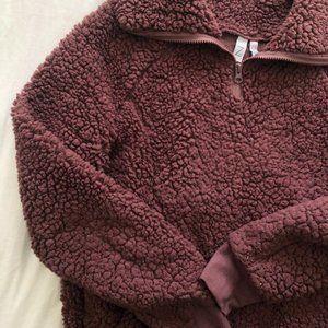 Zella fluffy sweater